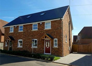 Thumbnail 3 bedroom semi-detached house for sale in New Road, Woolmer Green, Herts