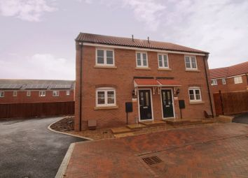 Thumbnail 3 bedroom semi-detached house for sale in The Ashton, Eastrea Road, Whittlesey, Peterborough