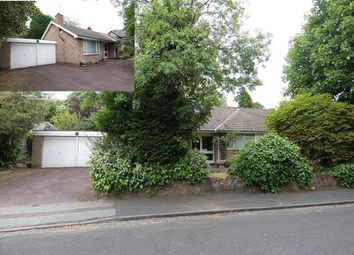 Thumbnail 3 bed detached bungalow for sale in Barker Road, Four Oaks, Sutton Coldfield