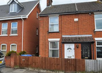 Thumbnail 2 bedroom end terrace house for sale in Waveney Road, Ipswich