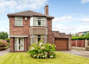 Thumbnail 3 bed detached house for sale in Grange Road, Manchester, Greater Manchester