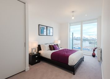 Thumbnail 2 bed flat to rent in River Gardens Walk, London