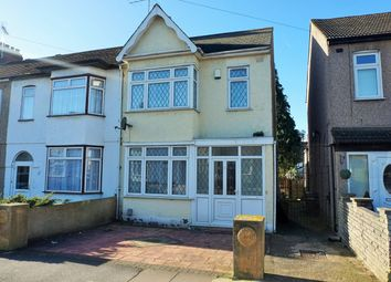 Thumbnail 3 bed semi-detached house for sale in Clinton Crescent, Ilford