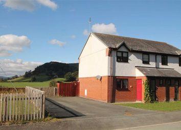 Thumbnail 3 bed semi-detached house for sale in Maes Watkin, Llangedwyn, Oswestry