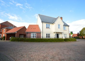 Thumbnail 4 bed detached house for sale in Breydon Way, Ipswich