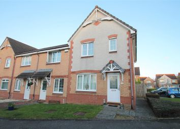 Thumbnail 3 bed end terrace house for sale in Badger Court, Broxburn
