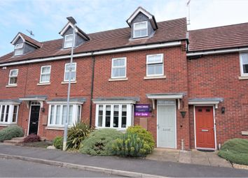 Thumbnail 3 bed end terrace house for sale in Astley Way, Ashby-De-La-Zouch