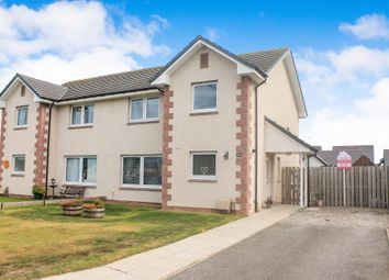 Thumbnail 3 bed semi-detached house for sale in Culbin Crescent, Nairn