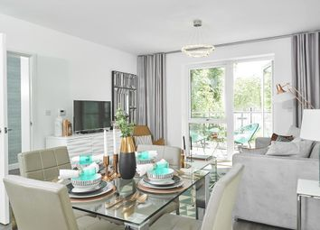 Thumbnail 3 bed flat for sale in Sapphire Gate At Kings Park, St Clements Avenue, Harold Wood, Romford