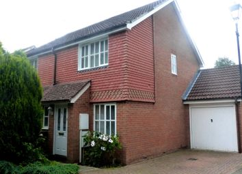 Thumbnail 2 bed semi-detached house to rent in Charlock Way, Southwater, Horsham