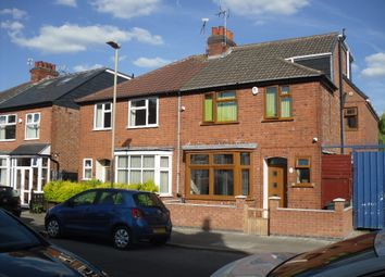 Thumbnail 5 bed semi-detached house for sale in Rowsley Street, Evington, Leicester