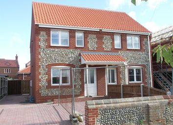 Thumbnail 2 bed property to rent in Walcott Road, Bacton, Norwich