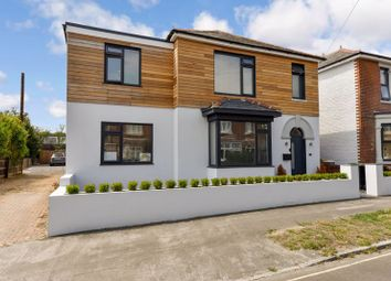 Thumbnail 4 bed detached house for sale in Orchard Road, Havant