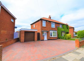 Thumbnail 3 bed semi-detached house for sale in Coniston Grove, Acklam, Middlesbrough