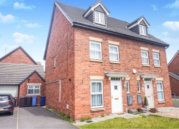 Thumbnail 3 bed semi-detached house for sale in Poplar Close, Liverpool