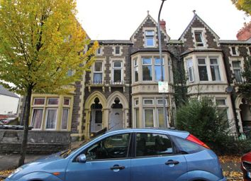 Thumbnail 3 bed flat to rent in Connaught Road, Roath, Cardiff