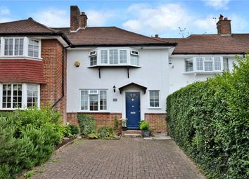 Thumbnail 2 bed terraced house for sale in Chapel Way, Epsom, Surrey
