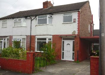 Thumbnail 3 bed semi-detached house for sale in Rotherwood Avenue, Stretford, Manchester