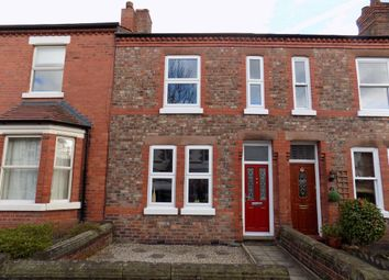 Thumbnail 2 bed terraced house for sale in Cawdor Street, Stockton Heath, Warrington