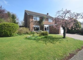 Thumbnail 4 bedroom detached house for sale in Wheatfields, Whatfield, Ipswich