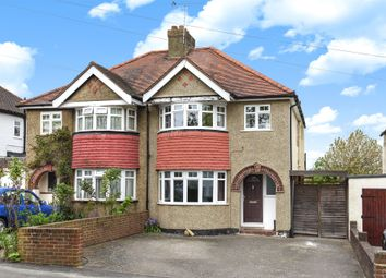 Thumbnail 3 bed semi-detached house for sale in Alberta Avenue, Cheam, Sutton
