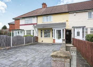 Thumbnail 3 bed terraced house for sale in Northleigh Road, Birmingham, Ward End, England
