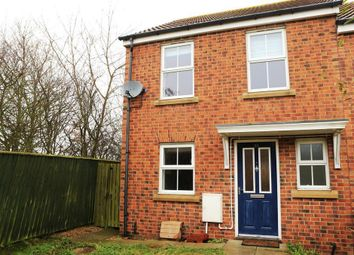 Thumbnail 2 bed end terrace house to rent in Meadowfield, Burnhope, Durham
