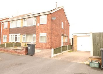 Thumbnail 3 bed semi-detached house to rent in York Avenue, Bottesford, Scunthorpe