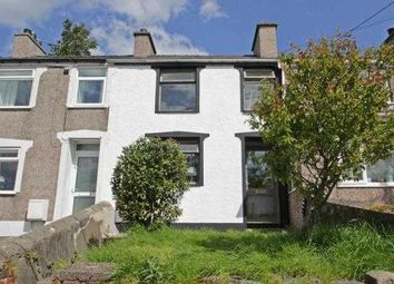 Thumbnail 1 bed terraced house for sale in Bryn Derwen Terrace, Talysarn, Caernarfon