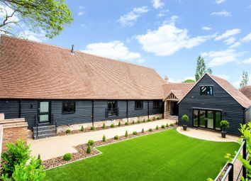 Thumbnail 4 bed detached house for sale in Church End, Broxted, Dunmow, Essex