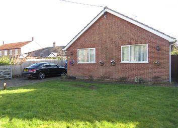 Thumbnail 3 bed detached bungalow for sale in Church Lane, Moulton, Spalding