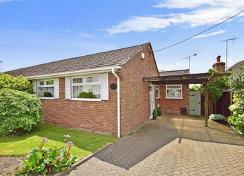 Thumbnail 2 bed semi-detached bungalow for sale in Howfield Lane, Chartham Hatch, Canterbury, Kent