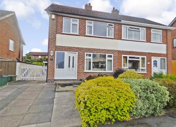 Thumbnail 3 bed semi-detached house for sale in Hillberry Close, Narborough, Leicester, Leicestershire