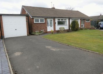 Thumbnail 2 bed semi-detached bungalow to rent in Oakland Avenue, Offerton, Stockport