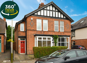 Thumbnail 3 bed semi-detached house for sale in Belvoir Drive, Aylestone, Leicester