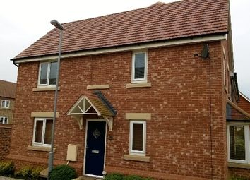 Thumbnail 3 bed link-detached house to rent in Middle Ground, St Neots