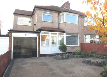 Thumbnail 4 bed semi-detached house for sale in Penmon Drive, Heswall, Wirral
