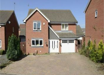 Thumbnail 4 bedroom detached house for sale in Melford Close, Corby, Northamptonshire