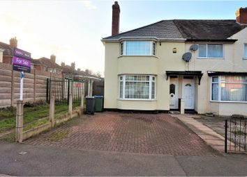 Thumbnail 2 bedroom semi-detached house for sale in Stanley Road, West Bromwich