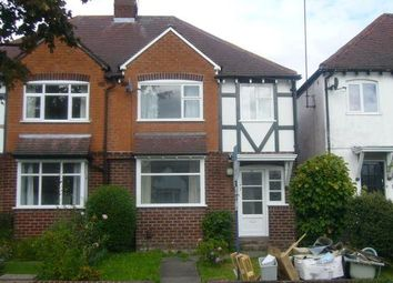 Thumbnail 3 bedroom semi-detached house to rent in Woodleigh Avenue, Harborne, Birmingham