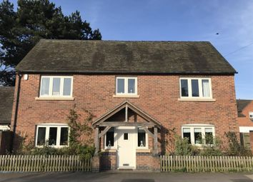 Thumbnail 4 bed detached house for sale in Oaks Road, Willington, Derby