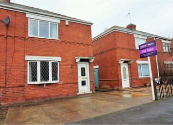 Thumbnail 2 bed semi-detached house for sale in Mayfield Avenue, Doncaster