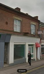 Thumbnail Retail premises for sale in Hotel Street, Coalville, Leicestershire