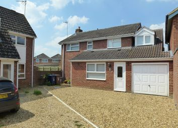 Thumbnail 5 bed detached house for sale in Sywell Grove, Elm, Wisbech