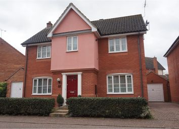 Thumbnail 4 bedroom detached house for sale in Comfrey Way, Thetford