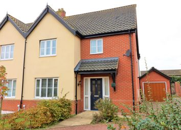 Thumbnail 3 bed semi-detached house for sale in Copsey Walk, Dereham