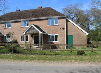 Thumbnail 4 bed semi-detached house to rent in The Middleway, Longparish, Hampshire