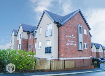 Thumbnail 2 bed flat for sale in Lawn Court, Harwood, Bolton