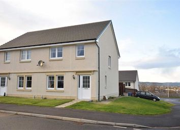 Thumbnail 3 bed semi-detached house for sale in Wade's Circle, Inverness