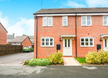 Thumbnail 2 bed property for sale in Crew Lane, Newbold Verdon, Leicester